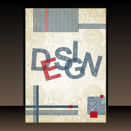 Libro clásico diseño de portada 03 vector