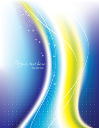 Lindo arco-íris sinfonia 03 vector