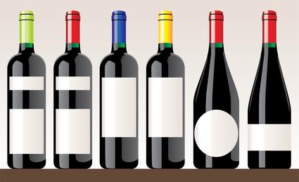 Vector de vino