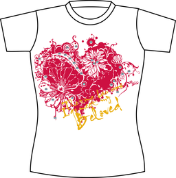 Kostenlose Vector T Shirt Vorlage 09