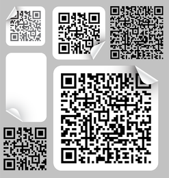 Bar Code Label 02 Vector