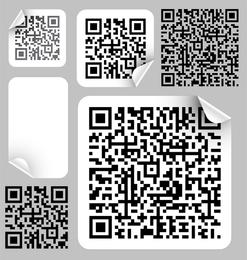 Etiqueta de código de barras 02 Vector