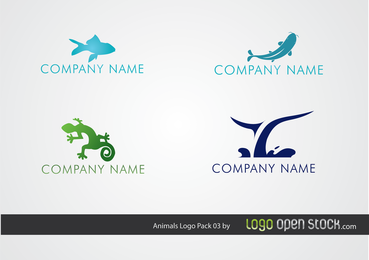 Sea Animal Logo Pack