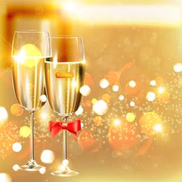Vector festivo celebración de 1