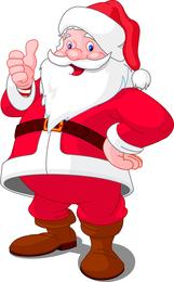 5 Santa Claus Vector