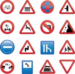 Road Signs Set