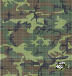 Raster 3 Camouflage Design Tommy Brix