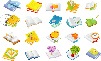 Books Of The Two Series Vector