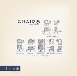 Sillas de Normas de Arquitectura por Frshnk