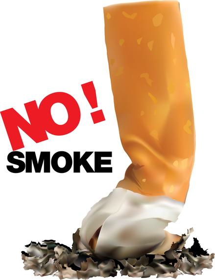 Acabamentos de fumar