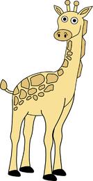 Kostenlose Giraffe Vector
