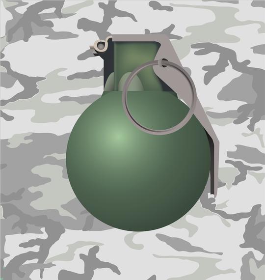 Ilustração de granada
