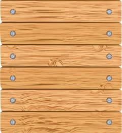Vetor de madeira 02