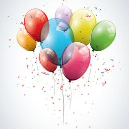 Balão de vetor 03