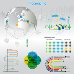 Business Information Elements 01 Vector