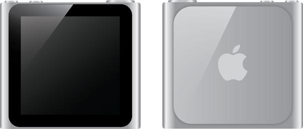 Vector livre de Nano Ipod