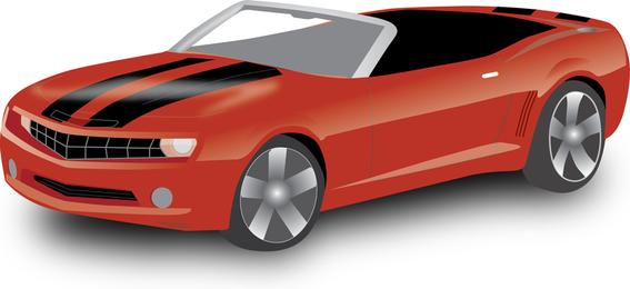 Convertible Chevy Camaro