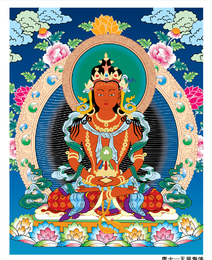Thangka Off Equ Venerable Vector con el propósito de obtener ganancias No reimprimir