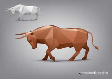 Facades Body Animal Models 03 Vector