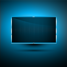 Led Tv 11 Vector