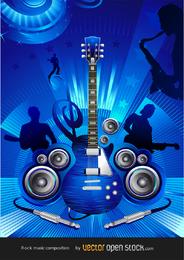 Free Rock Konzertvektor