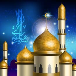 Islamicstyle Castle Vector 1