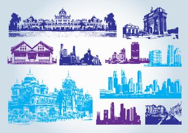 Imágenes prediseñadas de edificios