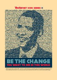 Vector de cambio de Obama