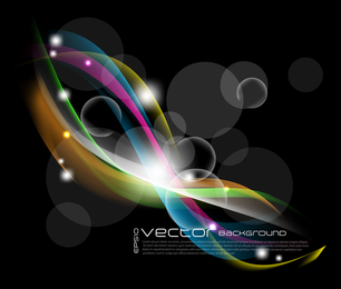 Lindo brilhante starlight efeitos 08 vector