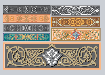 Adornos Art Nouveau