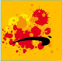 Salpicaduras de pintura grunge