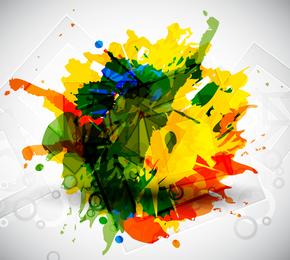 Colorido vector de arte
