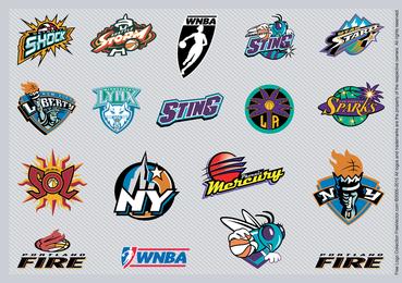 Equipo de la NBA insignias 2