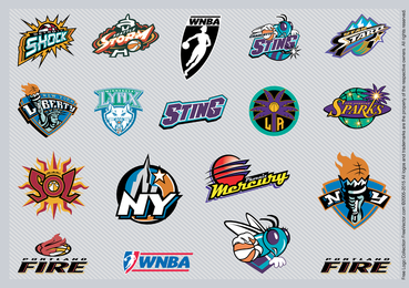 Logotipos da equipe da Nba 2