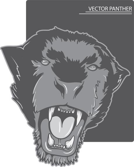 Ferocious Beast Head Vector