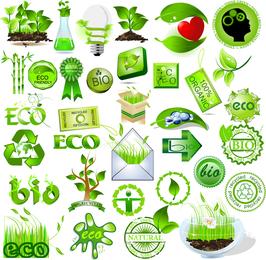 Green Element Vector