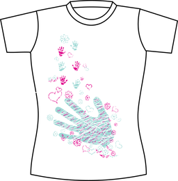 Free Vector T Shirt Template 03