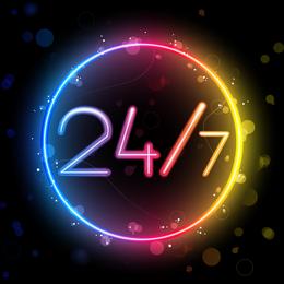 Lindo Neon Effects 03 Vector