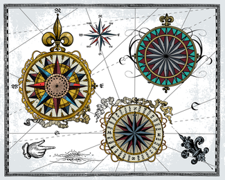 Nautical Theme Vector