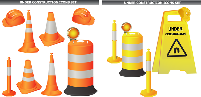 Roadblocks Vector