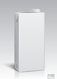 White Packing Model 06 Vector