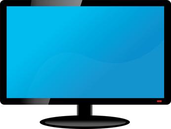 Tv lcd vector