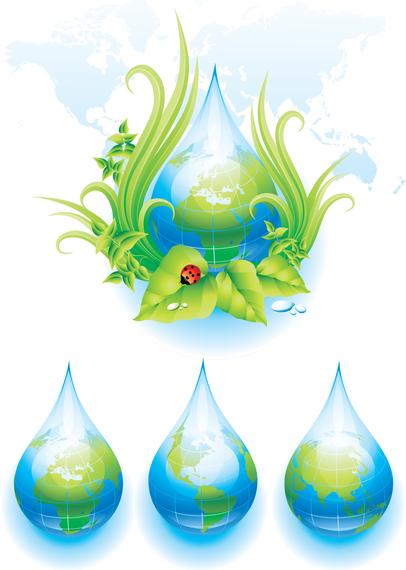 Environmental Theme Vector 1