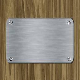 Metal Card Vector