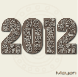 2012 Text Style Vector
