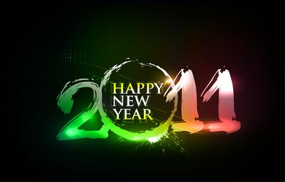 Feliz Ano Novo 2011 Luzes