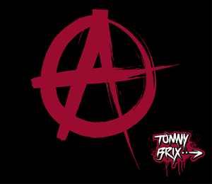 Anarchy Signsymbol Design Tommy Brix