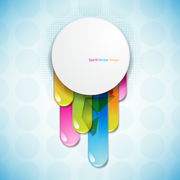 Brilliant Color Circle 04 Vector