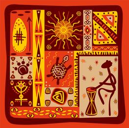 Vetor de Totem tribal clássico 4