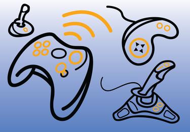 Vectores de consolas de juegos